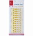Marianne Design Enamel Dots - Floral Hearts PL4516 per verpakking