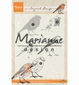 Marianne Design clear stamp Tiny's Layered Red Robin TC0866