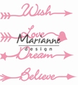 Marianne Design Collectables Arrow Sentiments COL1458