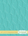 Taylored Expressions Embossing Folder Cloudy Days TEEF03
