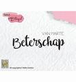 Nellie Snellen Clear Stamp Dutch Texts DTCS020 per stuk