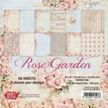 Craft & You Papierblok Rose Garden CPB-RG15 per stuk
