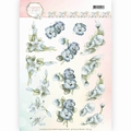 Precious Marieke knipvel True Blue CD11139 per vel