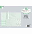 Joy! Crafts Papierset Design Mint 6011/0579 per stuk