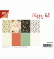 Joy! Crafts Papierset Happy Fall 6011/0558 per stuk