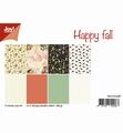 Joy! Crafts Papierset Happy Fall 6011/0558