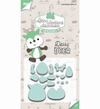 Joy Crafts Snijmal Daisy Deer 6002/3125 per stuk