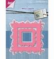 Joy Crafts Snijmal Mery's Vierkant met Cirkels 6002/1116 per stuk