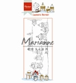 Marianne Design clear stamp Hetty's Lantern Border HT1640
