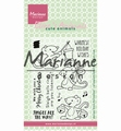 Marianne Design clear stamp Eline's Mice EC0174