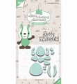 Joy Crafts Snijmal Bobby Badger 6002/3122