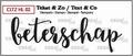 Crealies Clear Stamp Tekst en zo Beterschap CLTZHL02