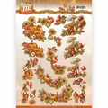 Yvonne Creations knipvel Fabulous Fall - Bouquets CD11154