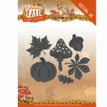 Yvonne Creations Die Fabulous Fall - Autumn Leaves YCD10149 per stuk