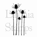 Lavinia Clear Stamp Silhouette Thistle LAV411