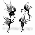Lavinia Clear Stamp the Fairy Foragers LAV498
