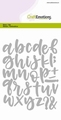 Craft Emotions Snijmal Alphabet Handlettering 115633/0513