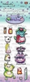 Polka Doodles Clear Stamp Little Monsters Funky PD7033