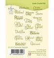 Leane Creatief Clear Stamp Sentiments 3 Dutch LCR55.5527