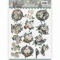 Amy Design knipvel Birds & Bells CD11151 per vel