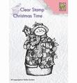 Nellie Snellen Clear Stamp Snowman & Birdhouse CT025