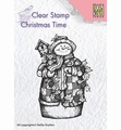 Nellie Snellen Clear Stamp Snowman & Birdhouse CT025