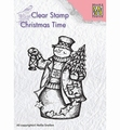 Nellie Snellen Clear Stamp Snowman & Lantern CT024