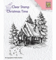 Nellie Snellen Clear Stamp Snowy House 2    CT022