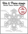 Crealies Clear Stamp Bits & Pieces nr. 130  CLBP130