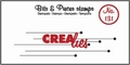 Crealies Clear Stamp Bits & Pieces nr. 131  CLBP131