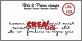 Crealies Clear Stamp Bits & Pieces nr. 133  CLBP133