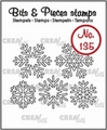 Crealies Clear Stamp Bits & Pieces nr. 135  CLBP135