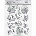 Amy Design knipvel Words of Sympathy - Swallows CD11180 per vel