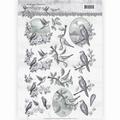 Amy Design knipvel Words of Sympathy - Swallows CD11180