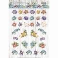 Precious Marieke knipvel Winter Flowers Mini CD11198