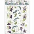 Precious Marieke knipvel Winter Flowers Orchids CD11188
