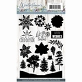 Precious Marieke Clear Stamp Winter Flowers PMCS10039