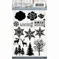 Precious Marieke Clear Stamp Winter Flowers PMCS10038