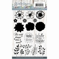 Precious Marieke Clear Stamp Winter Flowers PMCS10037 per stuk