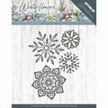 Precious Marieke Snijmal Winter Flowers Ice Flowers PM10143 per stuk