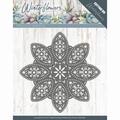 Precious Marieke Snijmal Winter Flowers Snowflake PM10140 per stuk