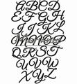 Marianne Design Craftables Classic Alphabet CR1452