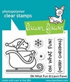 Lawn Fawn Clear Stamp Oh What Fun LF1776