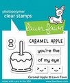 Lawn Fawn Clear Stamp Caramel Apple LF1759