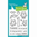 Lawn Fawn Clear Stamp So Owlsome LF1757