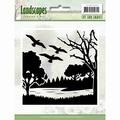Jeaninne's Art Cut & Emboss Folder Landscapes JAEMB10006