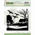 Jeaninne's Art Cut & Emboss Folder Landscapes JAEMB10006