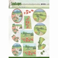 Jeanine's Art Knipvel Landscapes - Summer Landscapes CD11171