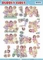 Yvonne Creations knipvel Bubbly Girls Spring CD11214