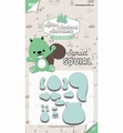 Joy Crafts Snijmal Samuel Squirl 6002/3123